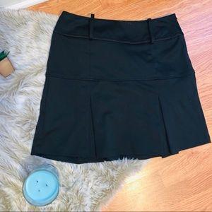 Candie's Black Heavy Pleated Mini Skirt